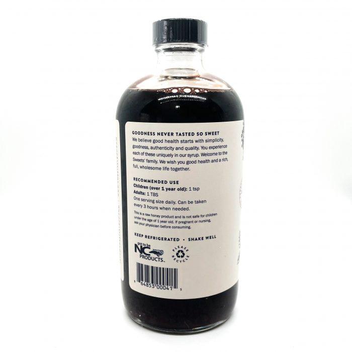 16oz Elderberry Label