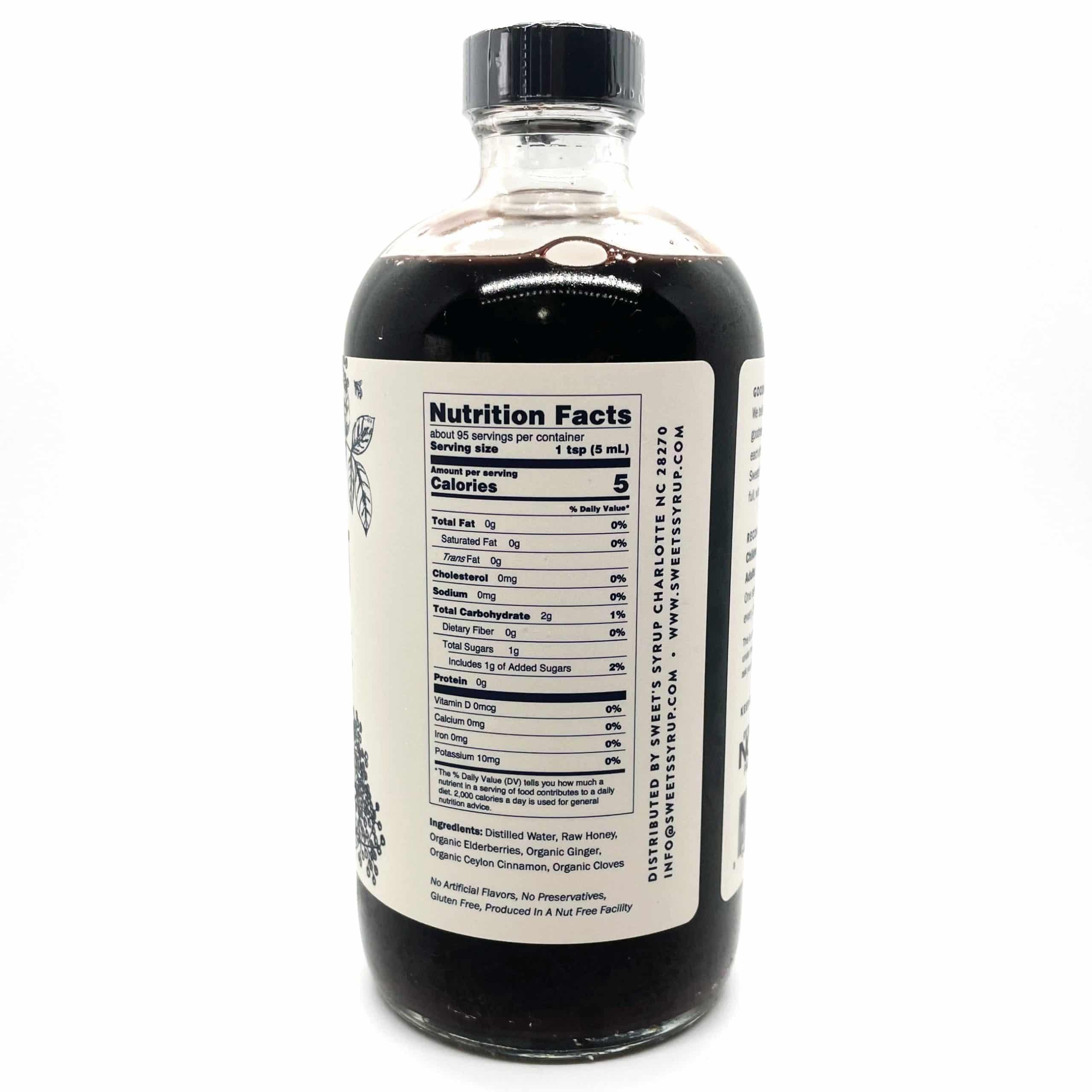 16oz Elderberry Nutrition
