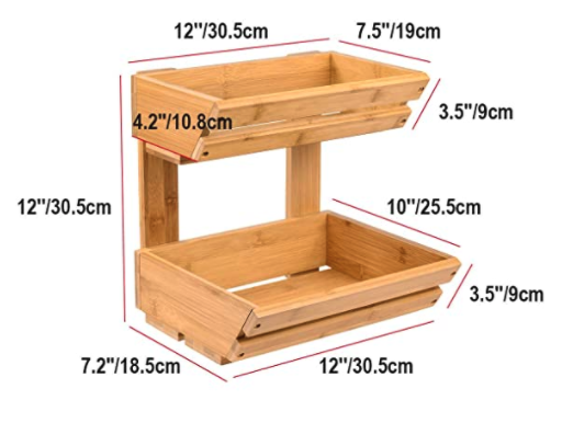 2 Tier Produce Stand