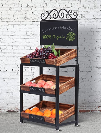 3 Tier Produce Stand