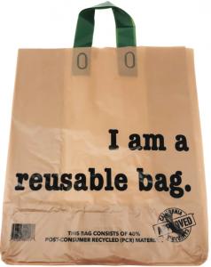 reusable brown bag