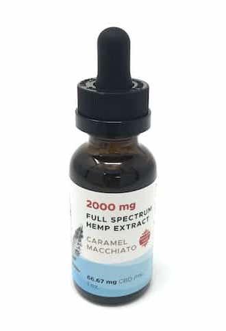 2000mg Full Spectrum Hemp Extract Caramel