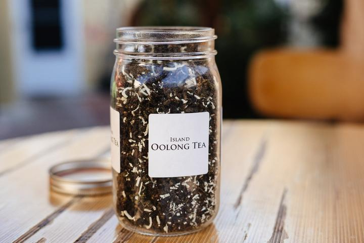 Coconut Island Oolong Tea