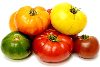 Mixed Heirloom Tomatoes