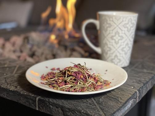 Backyard Brew Silver Rose Tea
