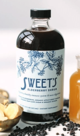 Sweets Elderberry Shrub