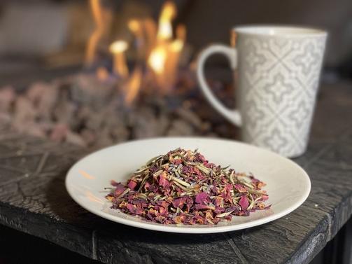 Backyard Brew White Lavender Rose Tea