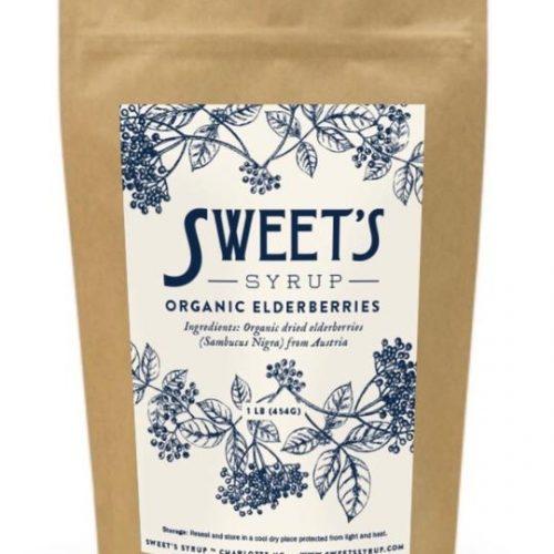 Sweet's Syrup organic elderberries