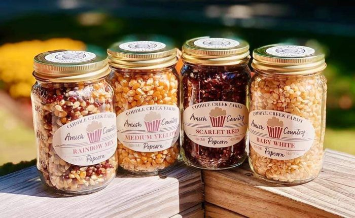 Coddle Creek Farms Popcorn Set