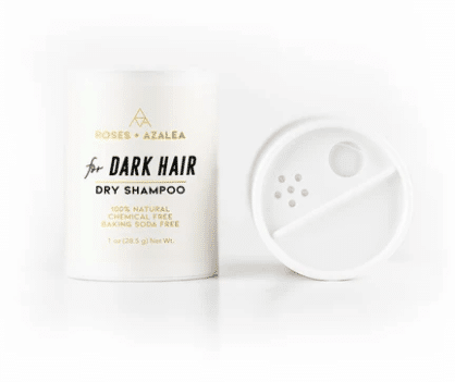 Roses + Azalea Dark Hair Dry Shampoo