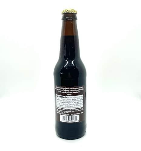 Scotts Root Beer Bottle Back