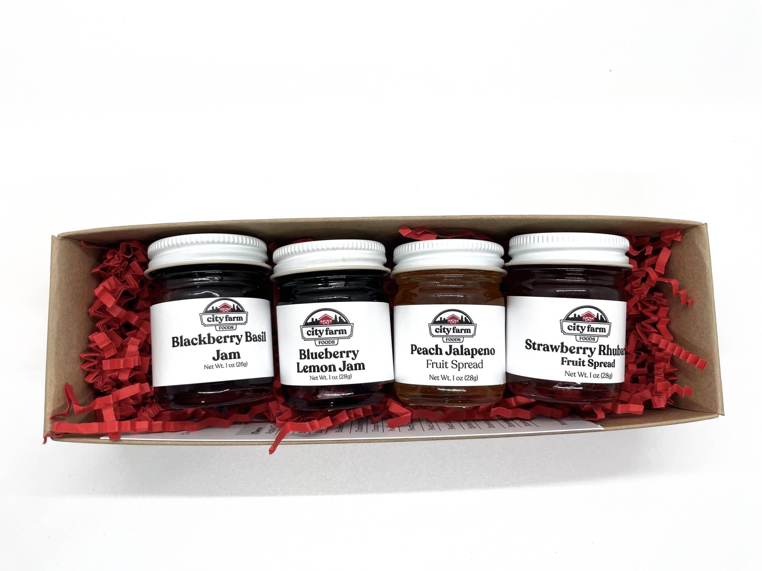 Farm Fresh Flavors Jam Set in box