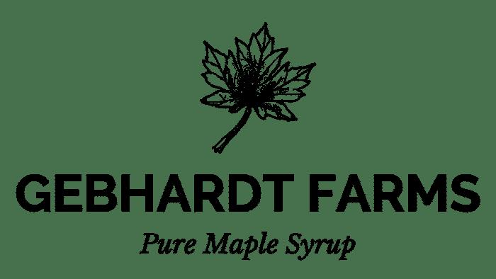 Maple Syrup Gebhardt Farms Logo