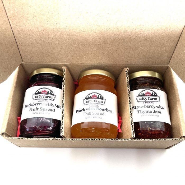 Let's Get Cheesy Jam Set Box