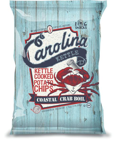 Carolina Kettle Chips Coastal Crab Boil