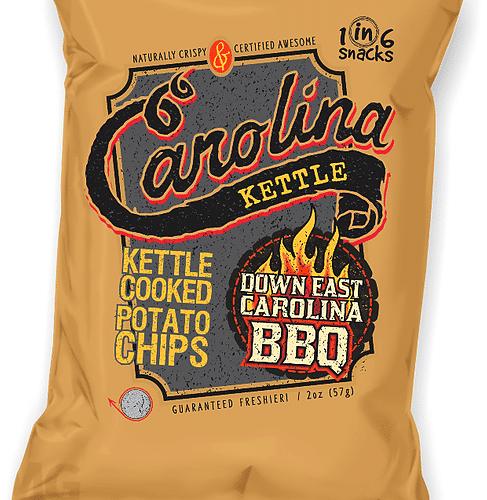 Carolina Kettle Chips Down East Carolina BBQ