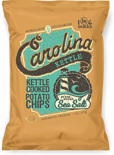 Carolina Kettle Chips Outer Banks Sea Salt