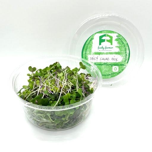 Funky Farmer Spicy Salad